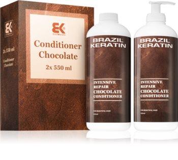 Brazil Keratin Chocolate выгодная упаковка для поврежденных волос