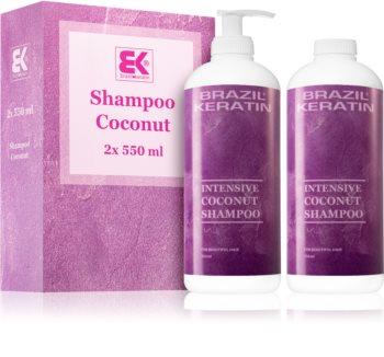Brazil Keratin Coco vorteilhafte Packung (für beschädigtes Haar)