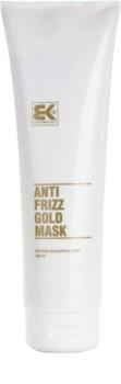 Brazil Keratin Gold кератиновая восстанавливающая маска для поврежденных волос