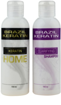Brazil Keratin Home coffret I. (para cabelo rebelde) para mulheres