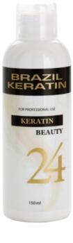 Brazil Keratin Beauty Keratin спеціальний крем-догляд для вирівнювання та відновлення пошкодженого волосся