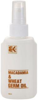 Brazil Keratin Macadamia & Wheat Germ Oil Olie til hår og krop
