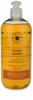 Brische Keratina champú para alisar el cabello