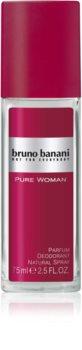 Bruno Banani Pure Woman déodorant avec vaporisateur pour femme