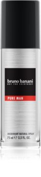 Bruno Banani Pure Man deodorant s rozprašovačem pro muže