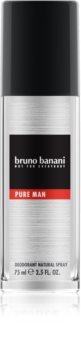 Bruno Banani Pure Man deodorant s rozprašovačom pre mužov
