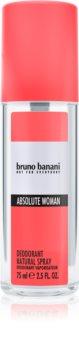 Bruno Banani Absolute Woman déodorant avec vaporisateur pour femme