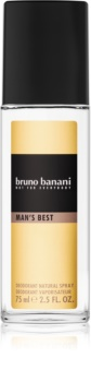 Bruno Banani Man's Best deodorant s rozprašovačem pro muže