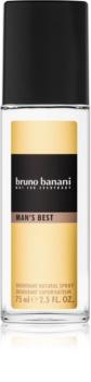 Bruno Banani Man's Best deodorante con diffusore per uomo