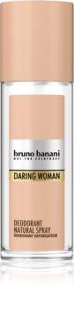 Bruno Banani Daring Woman déodorant avec vaporisateur pour femme
