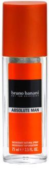 Bruno Banani Absolute Man desodorizante vaporizador para homens