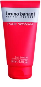 Bruno Banani Pure Woman gel de ducha para mujer 150 ml