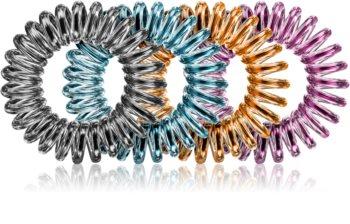 BrushArt Hair Rings Colour gumice za kosu 4 kom