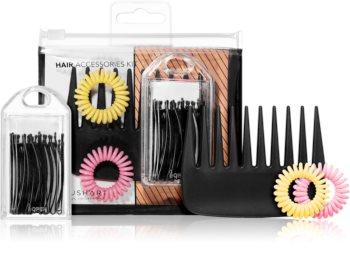 BrushArt Cartoon Collection set de accesorii pentru păr
