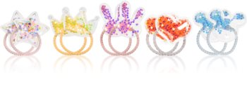 BrushArt KIDS Rainbow Hair Elastics for Kids