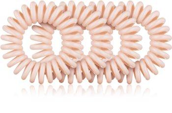 BrushArt Hair Rings Natural gumice za kosu 4 kom