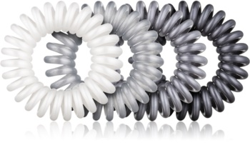 BrushArt Hair Rings Metal gumki do włosów 4 szt.