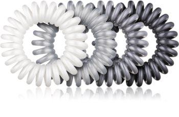 BrushArt Hair Rings Metal Haargummis 4 pc