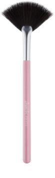 BrushArt Basic Pink pędzel do omiatania twarzy - wachlarz