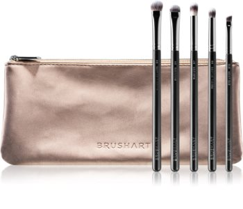 BrushArt Professional Eye Brush set Pinselset mit Täschchen für Damen