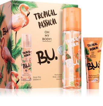 B.U. Tropical Passion coffret cadeau I. pour femme