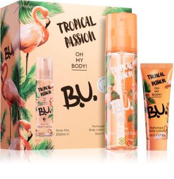 B.U. Tropical Passion Gavesæt  I. til kvinder
