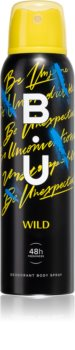 B.U. Wild Deodorant Spray für Damen