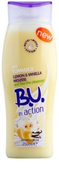 B.U. In Action - My Yummies! Lemon + Vanilla Mousse sprchový krém pro ženy 250 ml
