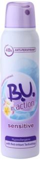 B.U. In Action Sensitive antiperspirant pro ženy