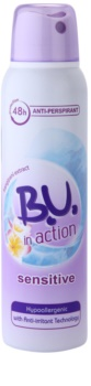 B.U. In Action Sensitive antitranspirante para mulheres