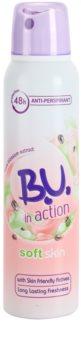 B.U. In Action Soft Skin antitranspirante para mujer 150 ml