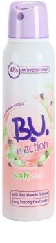 B.U. In Action Soft Skin antitranspirante para mulheres 150 ml