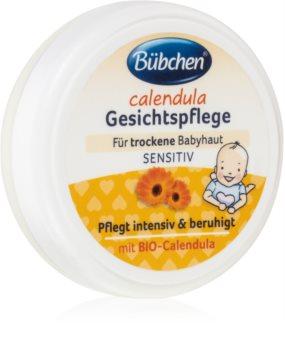 Bübchen Sensitive crema de fata cu galbenele pentru copii