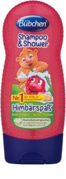 Bübchen Kids Hiustenpesuaine Ja Suihkugeeli 2 in 1