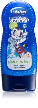 Bübchen Kids shampoo e doccia gel 2 in 1 per bambini