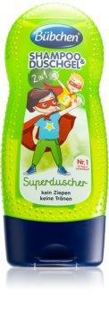 Bübchen Kids шампунь та гель для душа для дітей