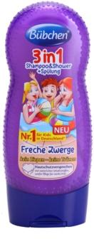 Bübchen Kids Hiustenpesuaine, Hoitoaine ja Suihkugeeli 3 in 1