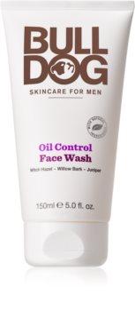 Bulldog Oil Control gel de curățare facial