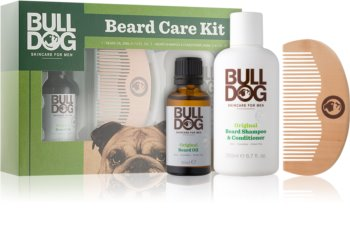 Bulldog Original Beard Care Kit Gift Set I. for Men