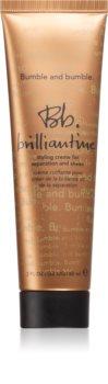 Bumble and Bumble Brilliantine Crème  voor Glas bij Droog en Broos Haar