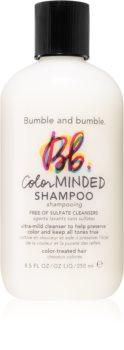 Bumble and Bumble ColorMINDED Shampoo finom állagú sampon festett hajra