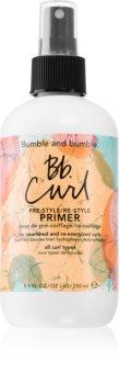 Bumble and Bumble Bb. Curl Pre-Style/Re-Style Primer primer spay pentru machiaj pentru păr creț