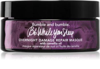 Bumble and Bumble Overnight Damage Repair Masque éjszakai maszk a sérült, töredezett hajra