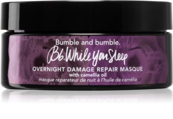Bumble and Bumble Overnight Damage Repair Masque noční maska pro poškozené a křehké vlasy