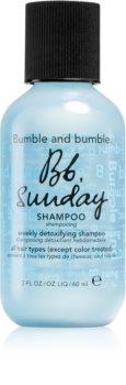 Bumble and Bumble Bb. Sunday Shampoo Tisztító méregtelenítő sampon