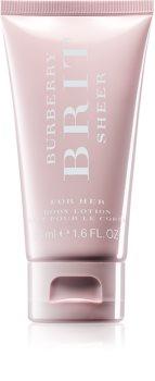 Burberry Brit Sheer lait corporel pour femme