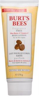 Burt's Bees Shea Butter Vitamin E lait corporel au beurre de karité