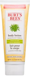 Burt's Bees Aloe & Buttermilk Körpermilch für empfindliche Haut mit Aloe Vera