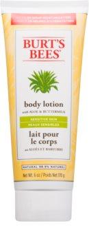 Burt's Bees Aloe & Buttermilk latte corpo per pelli sensibili con aloe vera