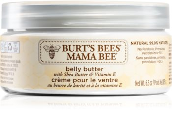 Burt's Bees Mama Bee vyživujúce telové maslo na brucho a pás
